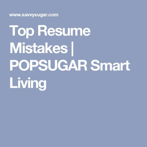 7 Résumé Red Flags to Avoid Red flag and Flags - resume mistakes