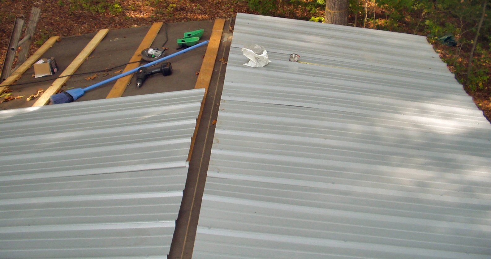 mobile home metal roof over kits Google Search Mobile