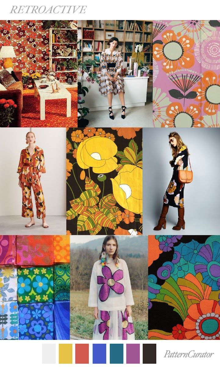 TRENDS // PATTERN CURATOR - RETROACTIVE . SS 2018 (FASHION ...