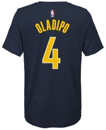 bd4d83d1 Nike Victor Oladipo Indiana Pacers Icon Name and Number T-Shirt, Big Boys  (8-20) - Blue XL