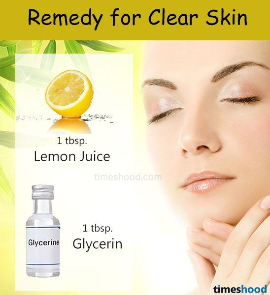 Lemon Juice Facial Home Remedy