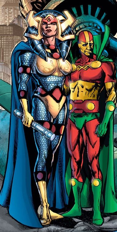 Big Barda Mr Miracle
