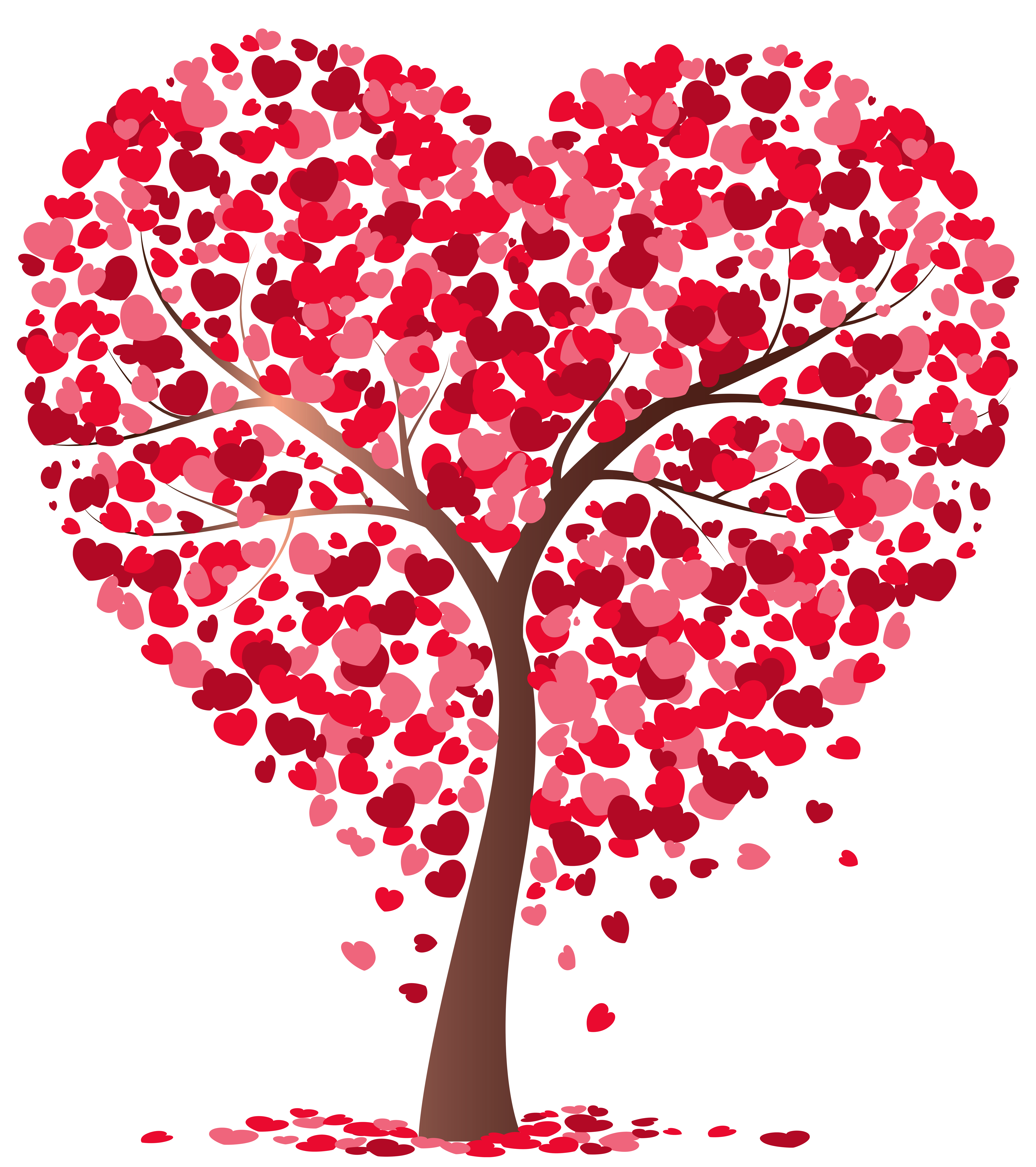 Heart Tree Transparent PNG Image Heart tree, Valentine