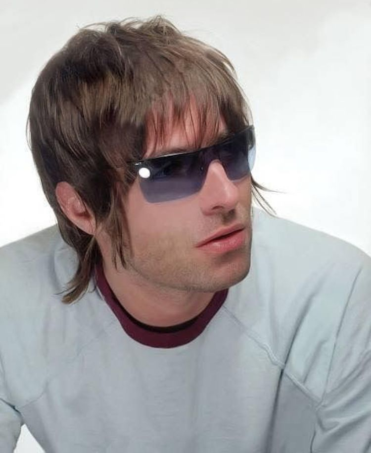 Pin By Yoselyn Roq On Oasis Liam Gallagher Mod Hair Cool Hairstyles