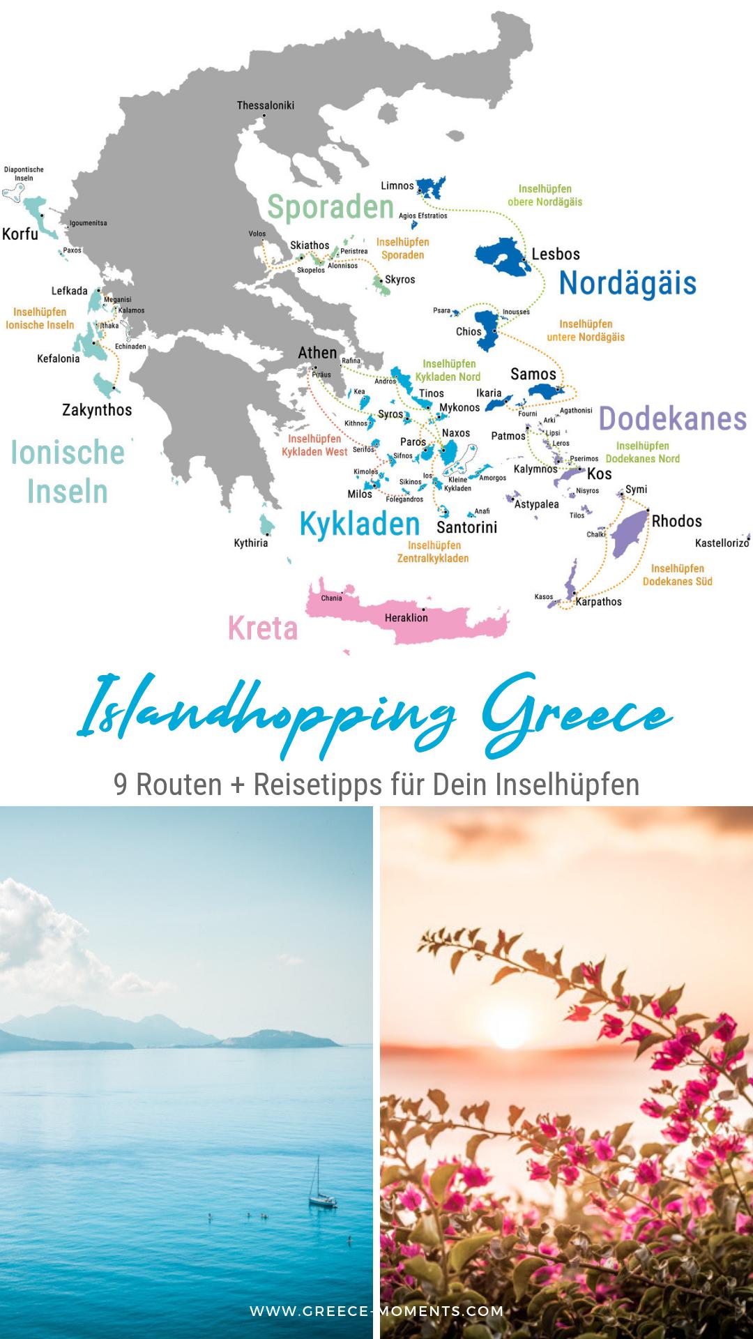 Inselhopping Griechenland 9 Inselhupfen Routen Tipps Kosten Inselhopping Griechenland Griechenland Soloreisen