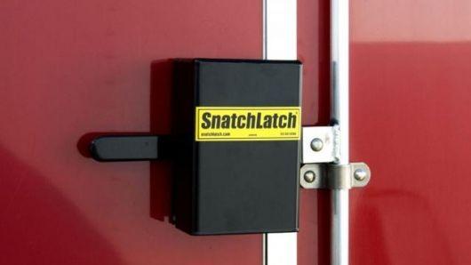 The Snatchlatch Trailer Locking Mechanism Cargo Trailers Trailer Best Trailers