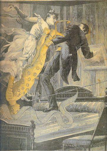Let's Go! Let's dance the Tenebreuse (Illustration from Rêve d'une petite fille qui qui voulut entree au Carmel) - Max Ernst (1929-30)