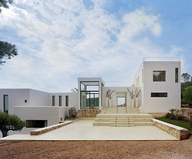 Attractive Casa Jondal In Ibiza, Spain By Jaime Serra Photo Gallery