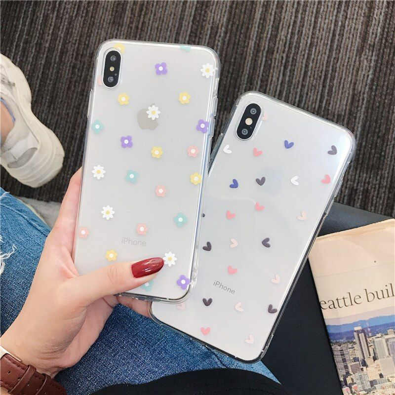 Cute Flower Phone Case For Samsung A80 A70 S8 A50 S9 note