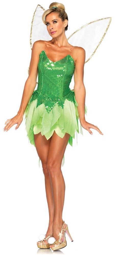 Adult Movie Peter Pan Disney Fairies Tinker Bell Pixie Dust Tink Fairy Costume  sc 1 st  Pinterest & Adult Movie Peter Pan Disney Fairies Tinker Bell Pixie Dust Tink ...