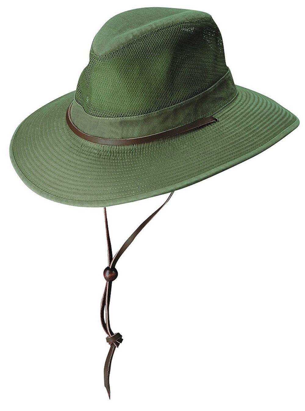 83d43be1e4c Washed Twill Mesh Safari Hat by DPC Outdoor Design