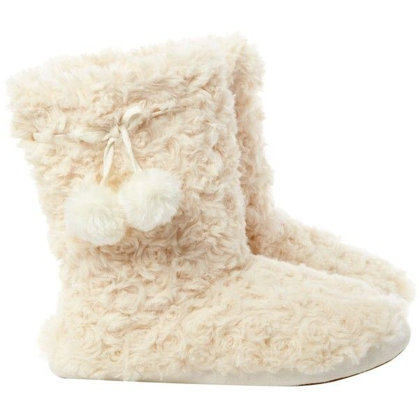 Therapy Faux Fur Booties 163 7 Liked On Polyvore Featuring