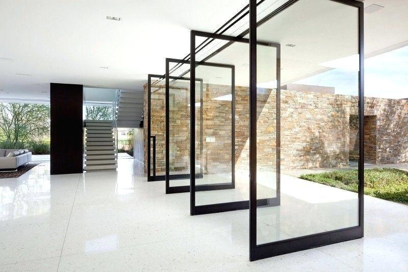 Retractable Glass Walls Wall Vitrocsa Sliding System Door Design