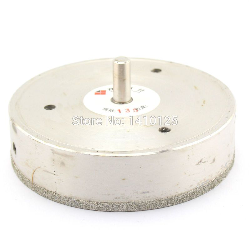 135 Mm 5 3 8 Inch Diamond Core Drill Bit Hole Saw Cutter Coated Masonry Drilling For Glass Tile Ceramic Ston Glass Tile Diamond Core Drill Bits Marble Granite