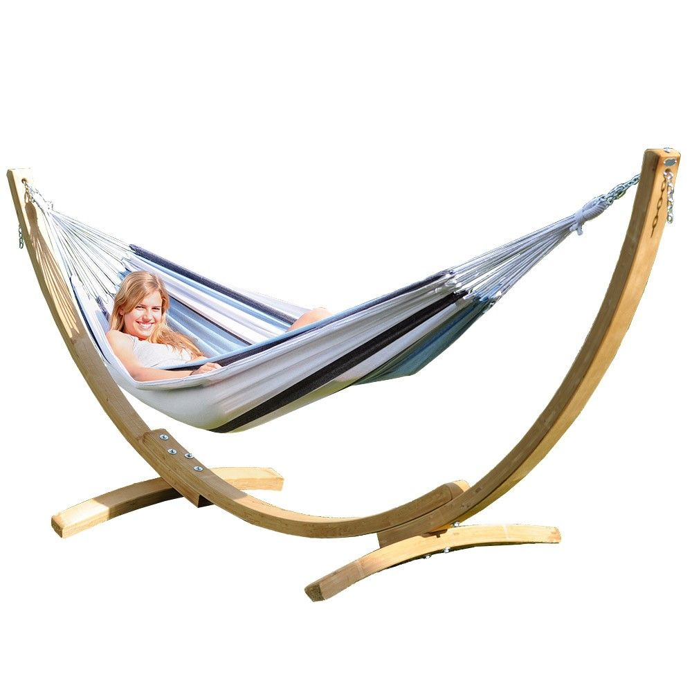 luxury garden hammocks sourced by our professional interior designers  shop our designer garden collection  amazonas apollo hammock and stand set marine   great outdoors      rh   pinterest