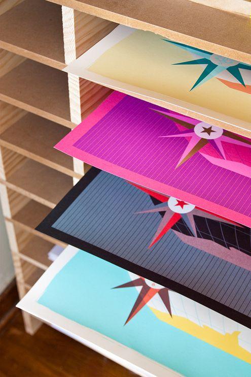 Diy Flat File For Artists Joanne Grant Art Art Studio At Home