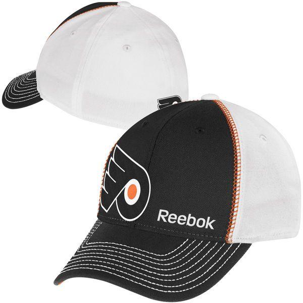 fa046c9f829 ... 50% off reebok philadelphia flyers structured flex hat black white  todays sale price 10.99 3b158