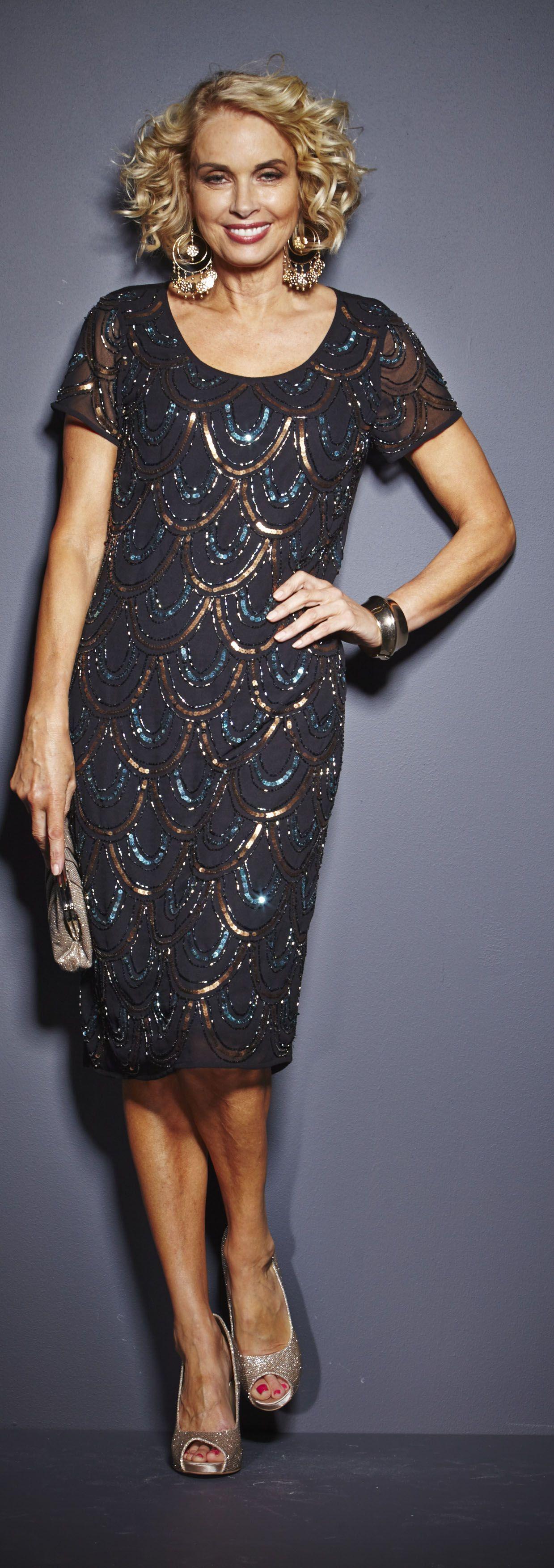 black for cruise - art deco plus size dress | FLAPPER Dresses ...