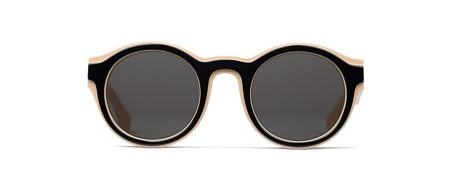 Sunglasses Mykita MMDUAL001 D2 NUDE/BLACK Unisex. Mykita MM DUAL001 D2 NUDE/BLACK.