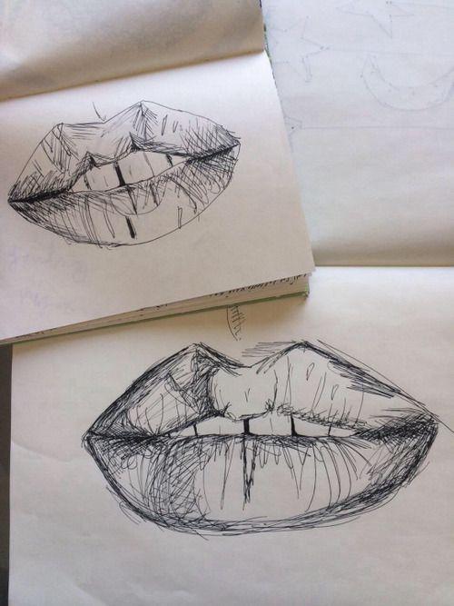 Lips Art And Drawing Image A R T