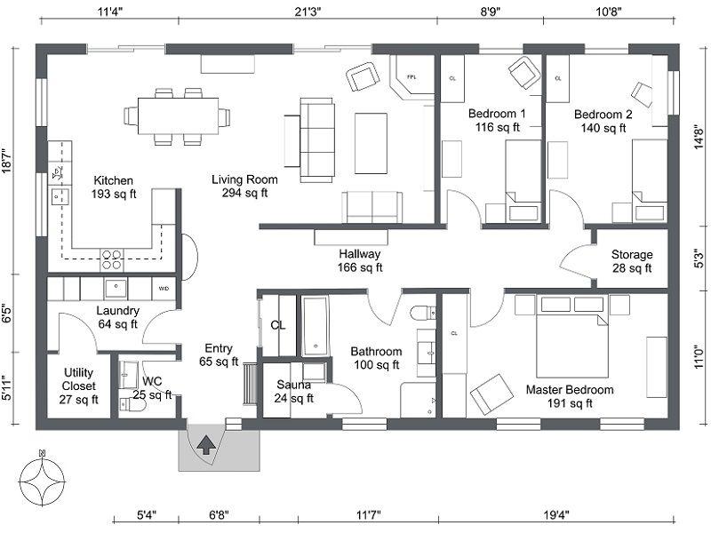 Customize 2d Floor Plans Floor Plans House Plan App