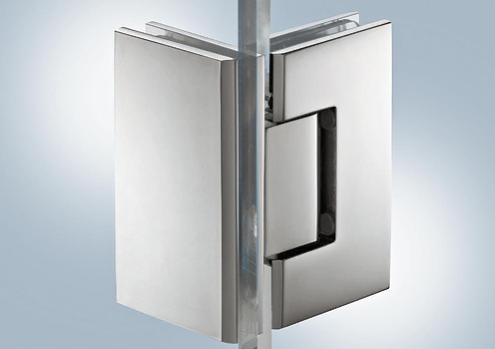 Shower Door Hinge 90 Aquasys In The Hafele America Shop Shower Doors Door Hinges