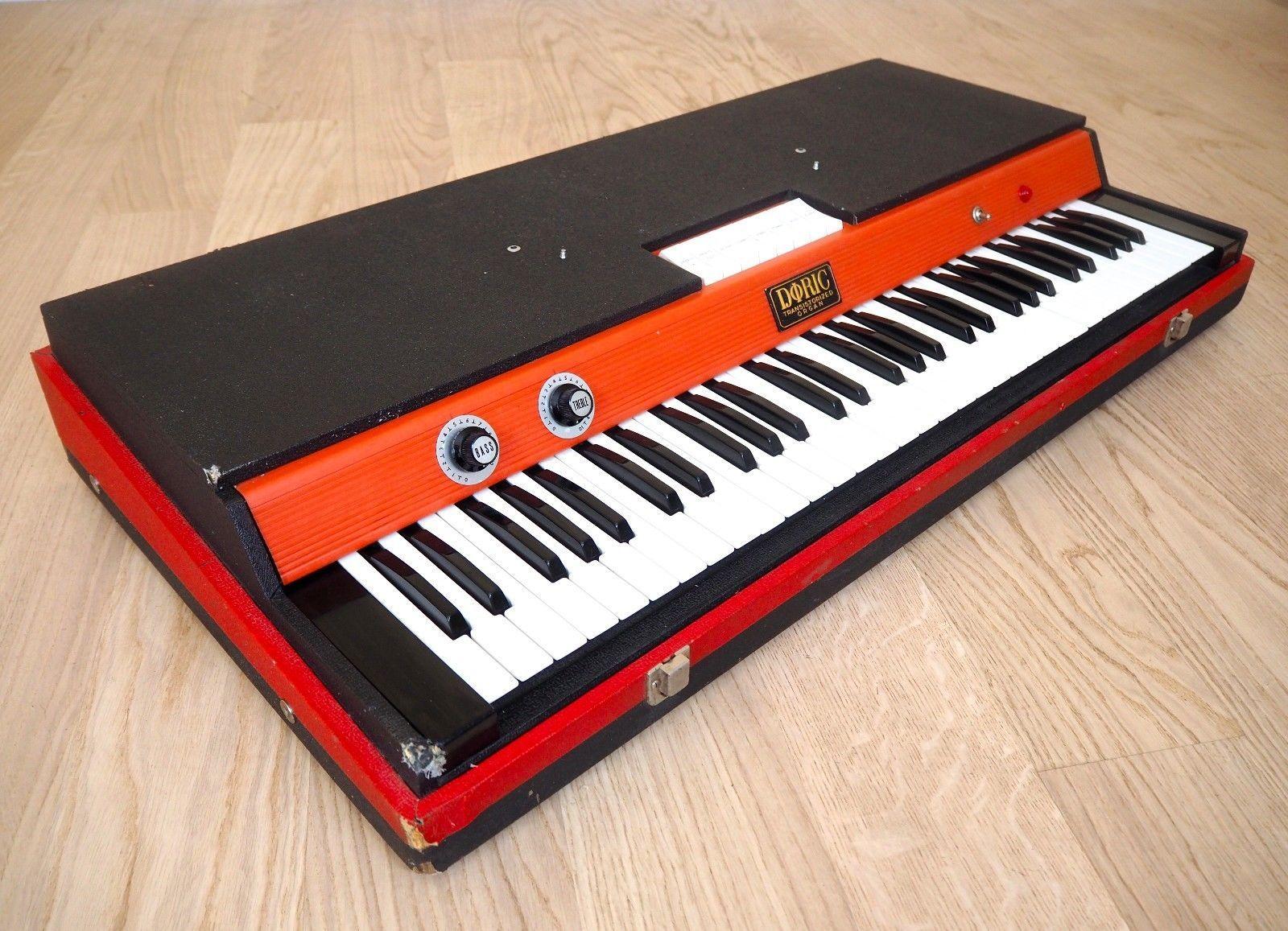 1967 Doric Cheetah Reverb Vintage Combo Organ Keyboard Italy GEM, Vox Jaguar