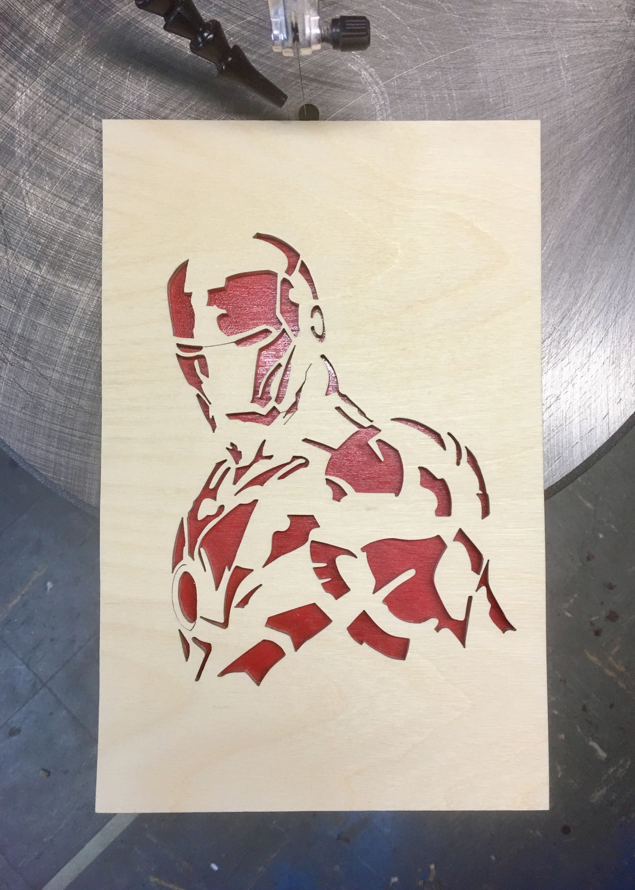 Admirable Ironman 2.0 | Scroll saw patterns, Wood art, Scroll saw KX-24