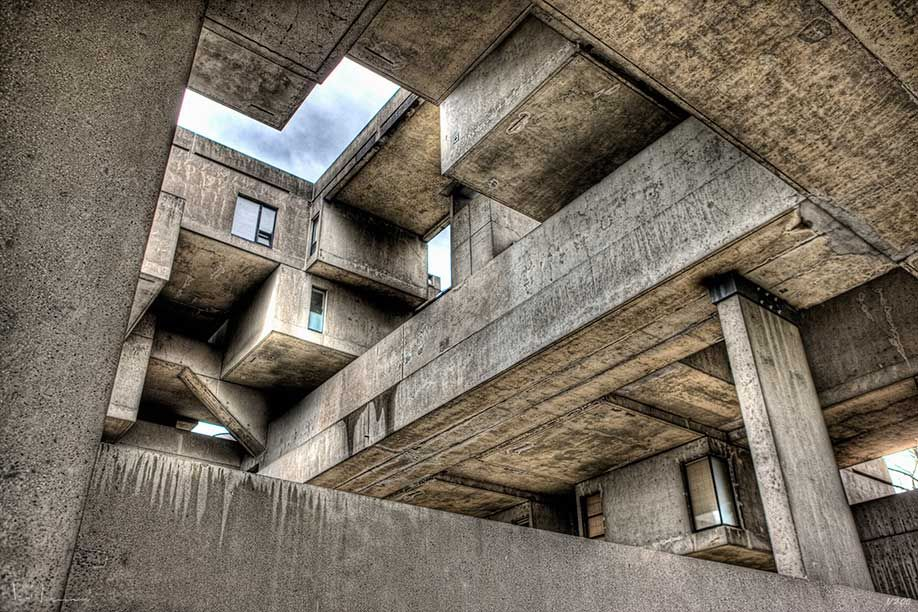 Architecture Photography Montreal habitat 67, montreal | ken kaminesky travel photography blog | arq