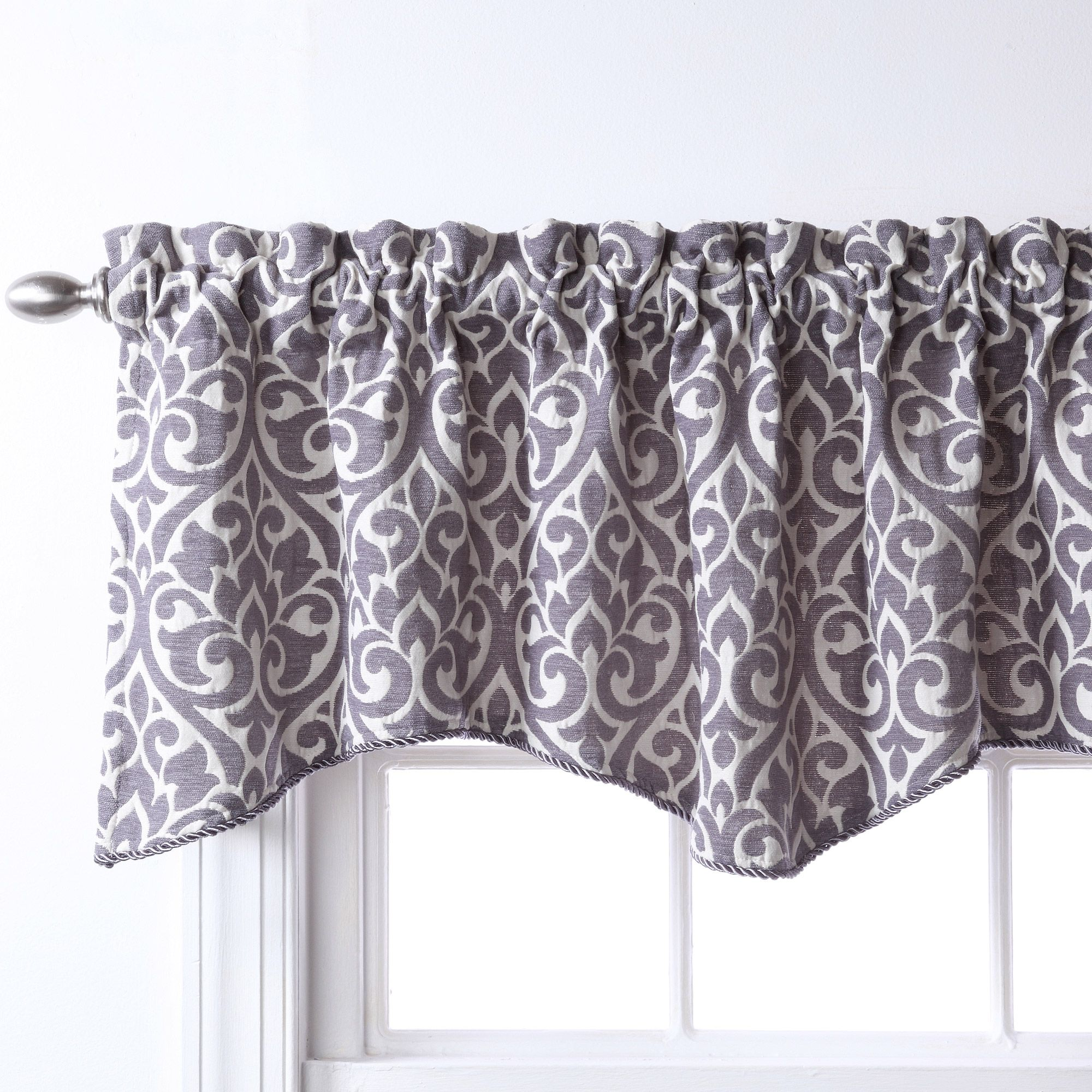 Enhance Your Home Decor With The Bryce Chenille Valance With Entrancing Dining Room Valances Review