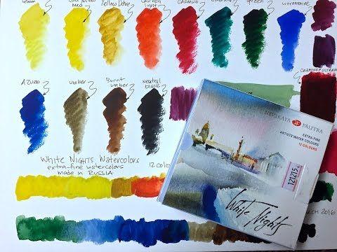 Mijello Mission Watercolors - YouTube