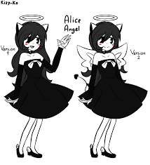 Resultado de imagen para bendy and the ink machine fanart alice angel