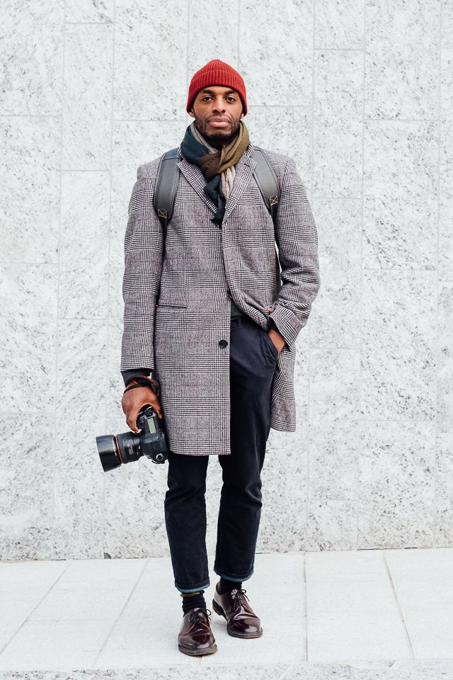 Darrel Hunter: Street Style Milan