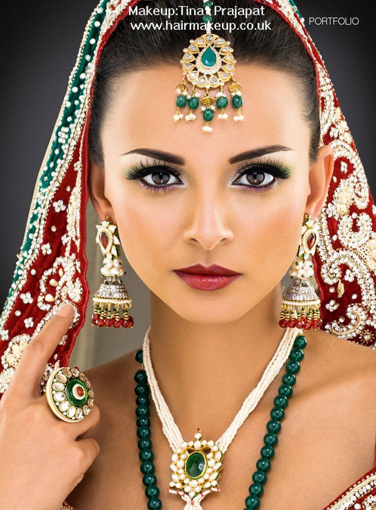 Lovely Makeup Artist: Tina Prajapat Publication: Asiana Www.hairmakeup.co.uk