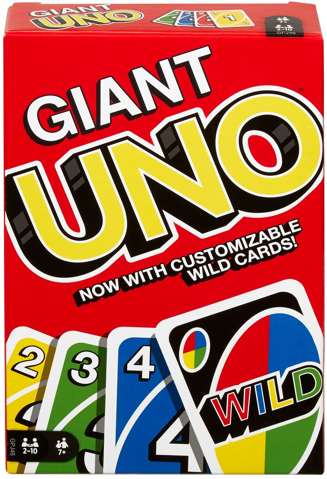 UNO Giant Family Card Game With 108 Oversized Cards