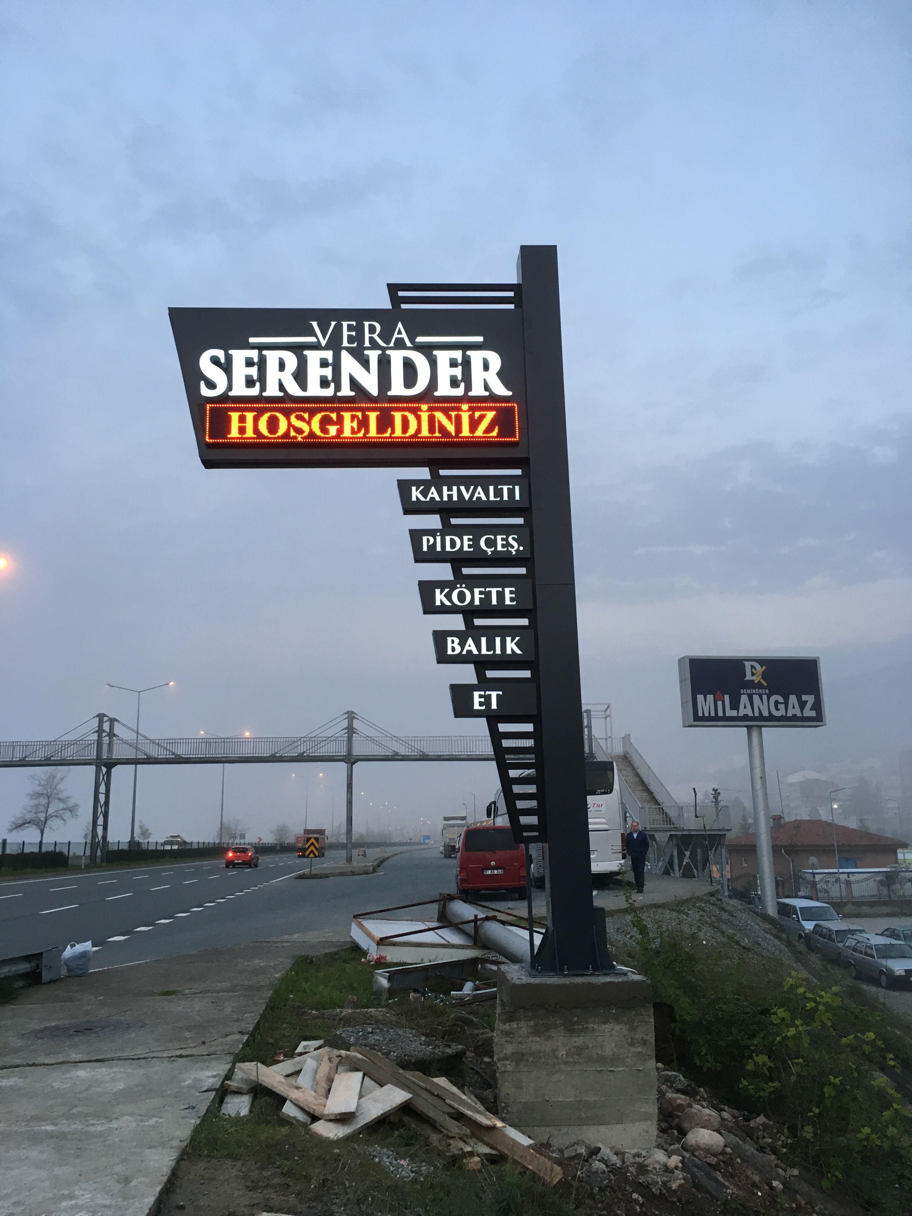 Begendiklerim Architectural Signage Exterior Signage Monument