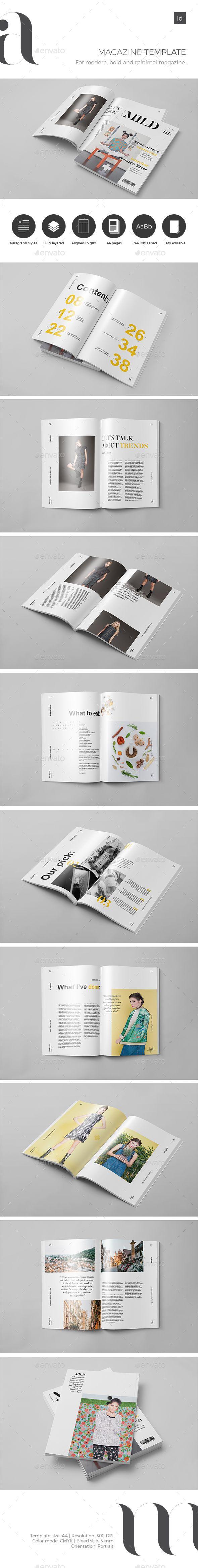 Mild Magazine Template