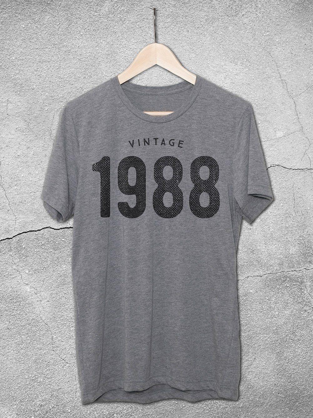 38ceaa739 1987 T-Shirt | B I R T H D A Y | 30th birthday shirts, Shirts ...