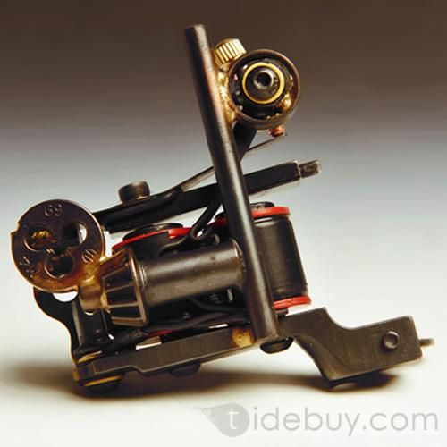 Pure Double 10 Coils Handmade Tattoo Machines For Pro Tattoo