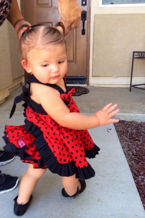 Lady Bug dress by Natalykisses on Etsy