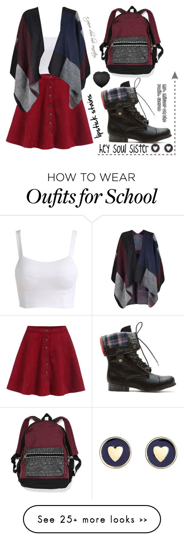 """Soul Sister"" by irdina-n on Polyvore featuring Victoria's Secret, Brooks Brothers and Train"