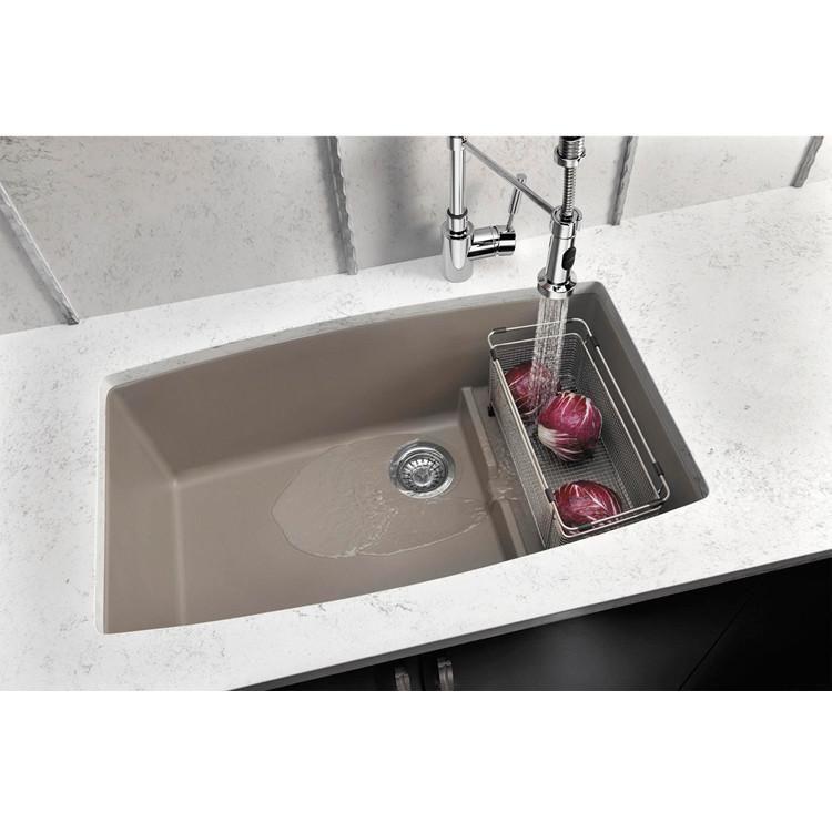 Blanco Performa 32 Granite Composite Undermount Kitchen Sink Single Bowl Silgranit Puradur In 2020 Sink Glass Sink Granite