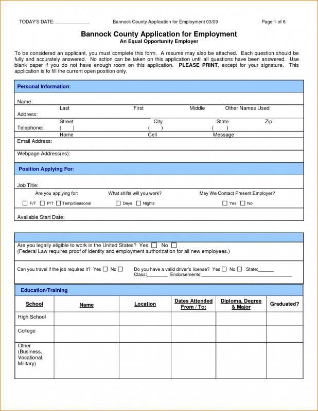 jobs application sample check more at https