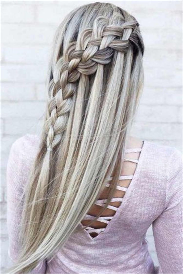 50 Half Up Half Down Wedding Hairstyles You Have To Keep For Your Big Day Page 14 Of 52 Women Fashion Lifestyle Blog Shinecoco Com Hair Styles Braided Hairstyles Long Hair Styles