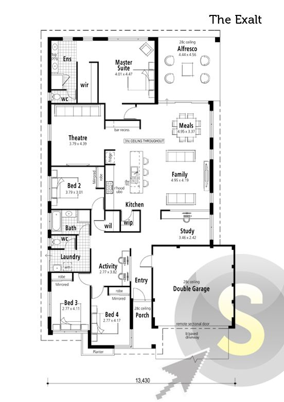 Pin By Smart Homes For Living On Smart Home Floorplans House