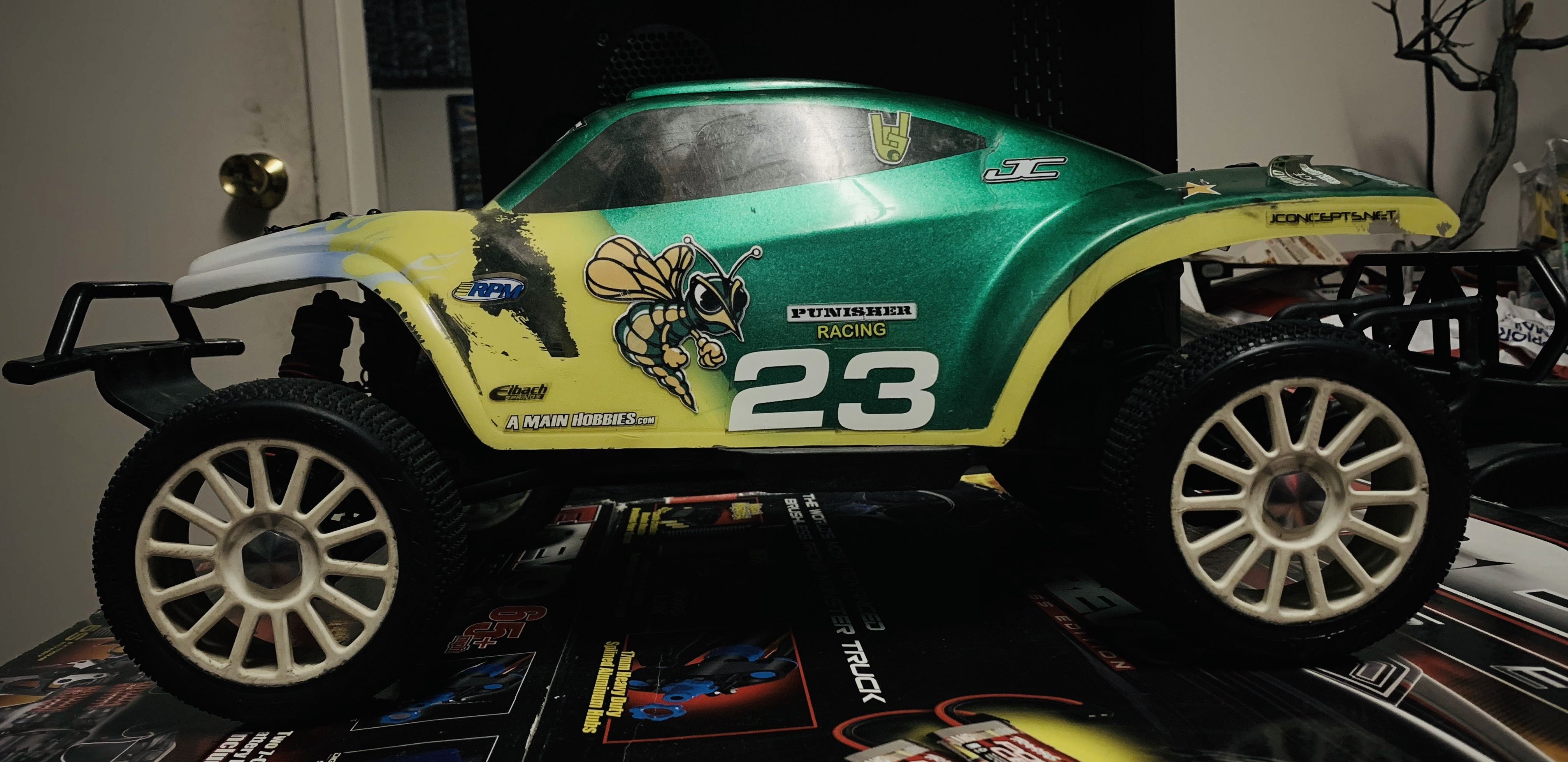 Pin By Big Cisco On Rc Cars Monster Trucks Antique Cars Rc Cars [ 1958 x 4029 Pixel ]