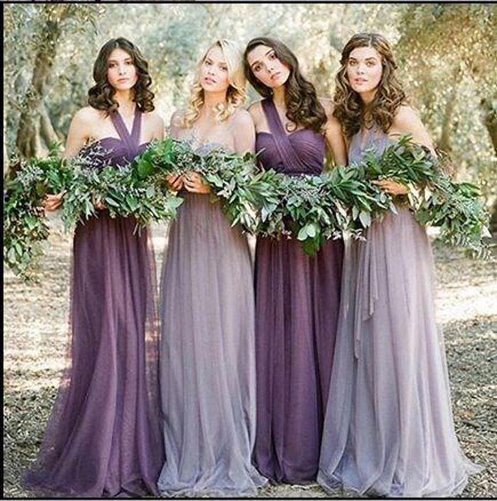 Vestidos Color Lila Para Damas