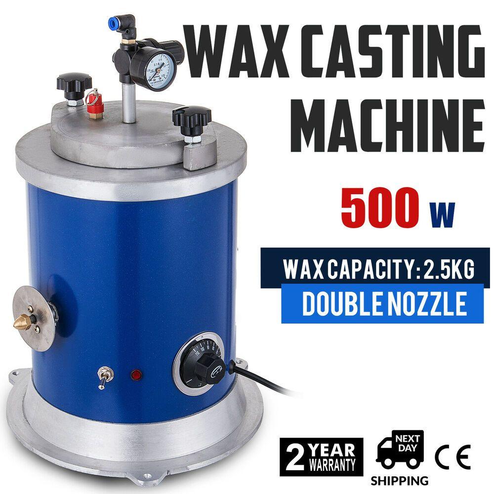 Ebay Sponsored 500w Round Wax Injector Wax Casting Machine Quick Heating Injection Aluminium Casting Machine Liquid Rubber It Cast