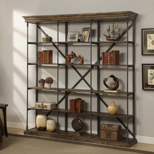 Corbin 5 Shelf Open Bookshelf Jerome S Furniture