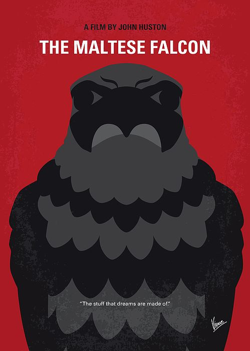 No780 My The Maltese Falcon Minimal Movie Poster By Chungkong Art Minimal Movie Posters Movie Posters Minimalist Poster